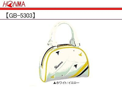 Honma golf pouch small bag case for ladies women GB5303 white yellow New