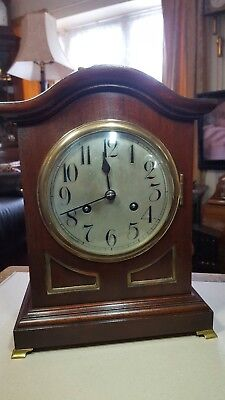antique quarter chiming bracket clock