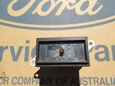 old vdo ford xw xy zc zd clock dated 8/71 falcone fairlane fairmont gs gt