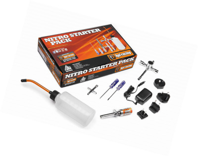 HPI Nitro Starter Pack Kit Glow Plug Igniter ChargerFuel Bottle and Tools Pack