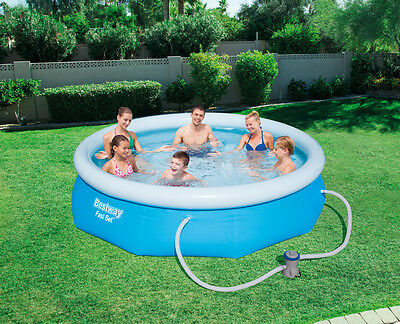 BESTWAY FAST SET POOL Φ 305 x 76cm EASY TO ASSEMBLE