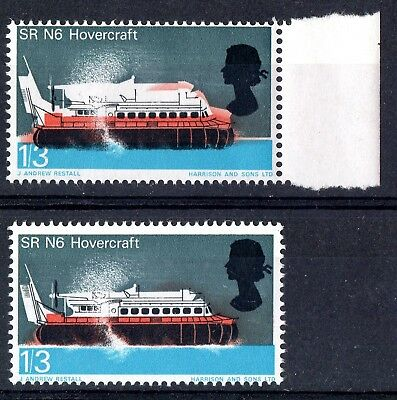 GB.ERROR - (RAISED ROOF ETC) - 1966 1/3d TECHNOLOGY - MNH - ORD..