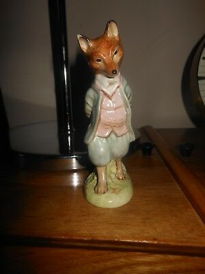 BESWICK BEATRIX POTTER  FOXY WHISKERED GENTLEMEN BP1a