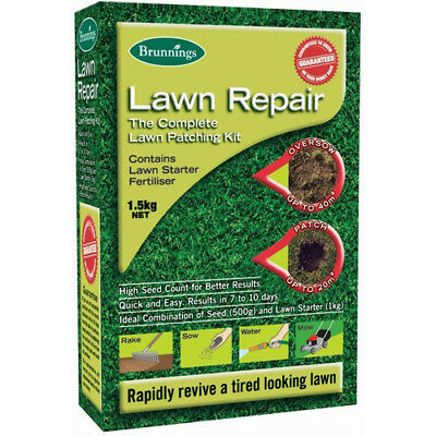 Brunnings Lawn Repair Seed. 1.5kg
