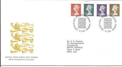 Gb Fdc 1999 New Definitives-High Values