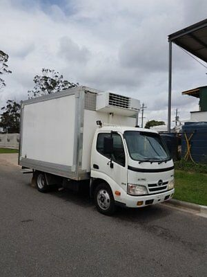2011 Hino Dutro 300 Auto Fridge Truck, Drive On Car Licence, Not Isuzu Canter