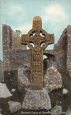 Ireland Ancient Cross at Clonmacnoise