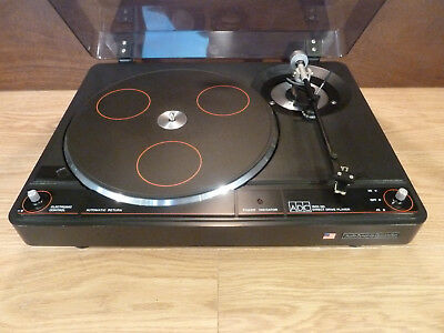 Stunning USA Designed ADC 1600 Direct Drive Turntable & ALT-1 Looking Arm