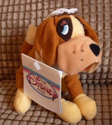 Disney Store 90's Tagged Beanie Soft Toy Peter Pan Nana Dog