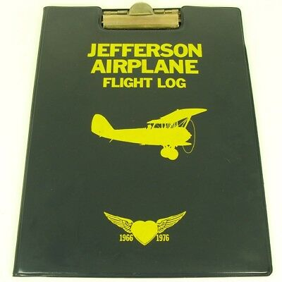 Jefferson Airplane Flight Log PROMOTIONAL Clipboard Grunt Records