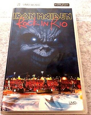Iron Maiden PSP UMD Rock In Rio & Classic Albums NOTB Videos Number of the Beast