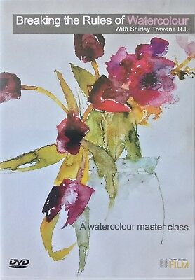 Shirley Travena Breaking Rules of Watercolour Schulung DVD