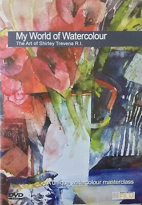 Shirley Travena My World of Watercolour Schulung DVD
