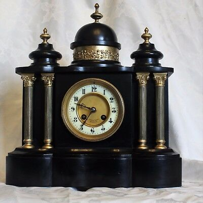Antique french marble clock