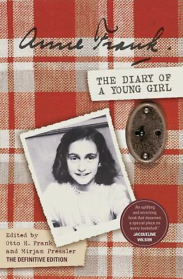 The Diary Of A Young Girl: Definitive Edition - Book By Anne Frank (Paperback)