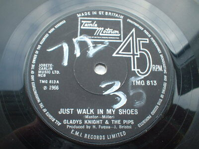 Gladys Knight Just Walk In My Shoes Is In Vg+++ Condition