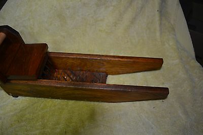 WOOL PICKER with Youtube link for combing  wool before carding and spinning