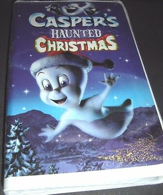 Caspers Haunted Christmas (VHS, 2000) NEW
