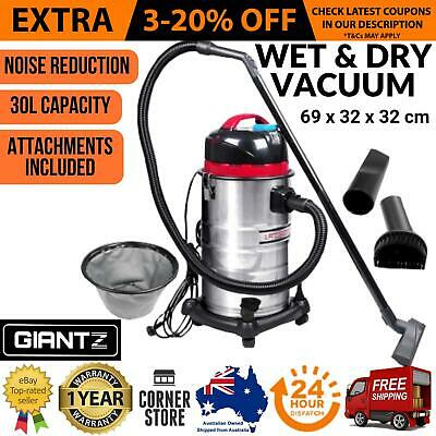 Industrial Commercial Bagless Dry Wet Vacuum Cleaner 30L Vaccum 1400W