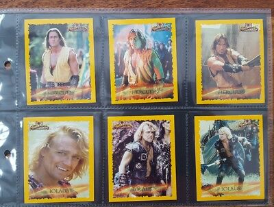 Hercules Set Of 24 Collector Cards 1996 Merlin