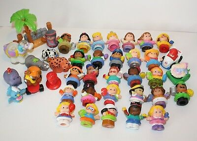 Bulk Lot 40+ LITTLE PEOPLE Fisher Price Boys, Girls, Animals, & More!
