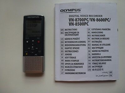 Olympus Vn-8600Pc Digital Voice Recorder - Business Office Home Equipment
