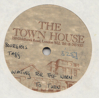 Pop  / Rock -- Bourgeois Tagg -- Waiting For The Worm To Turn  -- Acetate