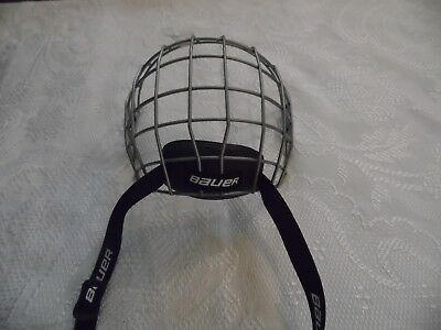 Bauer True Vision Ice Hockey Face Mask/cage Fm2100 Size L