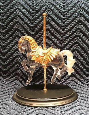 franklin mint carousel Horse