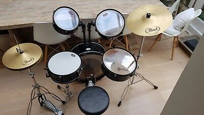 Pearl Rhythm Traveller 5-Piece Drum Kit