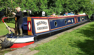 Henry Chichele - 68 foot semi-traditional stern narrowboat