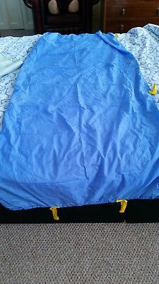Blue Slide Sheet, Elderly/Disability/Motability/In Bed Moving Aid