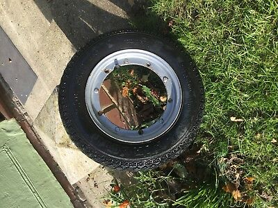 Vespa Px Wheel And Tyre