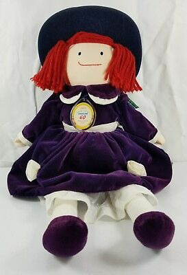 Eden Madeline Rag Doll 60th Anniversary Special Edition 1999 Doll Fully Clothed