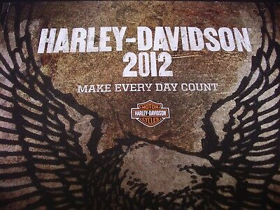 Harley-Davidson Brochure 2012 Full Uk Model Range