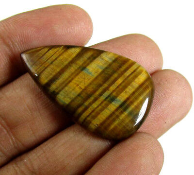 35 x 20 mm Tiger Eye Loose Stone for sale Cabochon Gemstone Wholesale Prices
