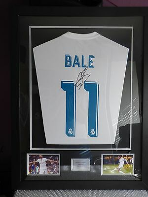 Gareth Bale Signed And Framed Football Shirt and Authenticity Certificate (COA)