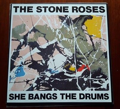 "Stone Roses 12"" single She Bangs the Drums Triple A ORE T 6"