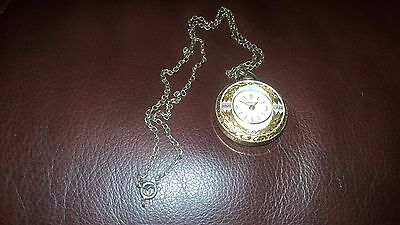 Vintage Swissam Mechanical Ladies Pendant watch with chain
