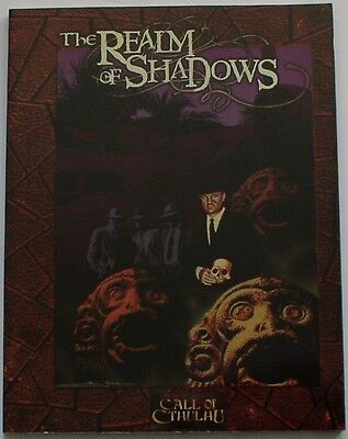 Call of Cthulhu RPG - Realm of Shadows campaign book - Pagan Publishing 1997