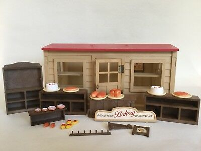 VINTAGE Epoch Sylvanian Families 1987 Bakery