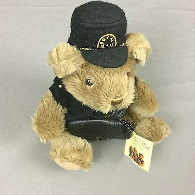 The Teddy Bear Collection Patrick the Postman Handmade Plush Toy