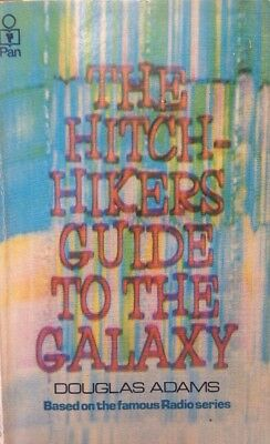 The Hitchhiker's Guide To The Galaxy by Douglas Adams (Paperback, 1980)