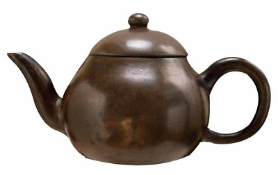 Rare Yixing Teapot Qing Dynasty 1902-1908 (Polished) Original and genuine