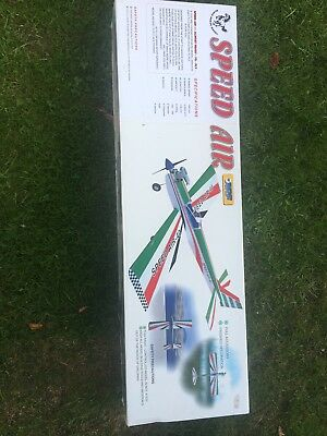 Speed Air Radio Controlled Aeroplane, unused and in perfect condition.