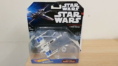 Star Wars Hot Wheels Starships Resistance X-Wing Fighter include stand