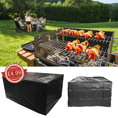 170x65x115 Waterproof Garden BBQ Cover Outdoor Barbecue Storage Cover Protector