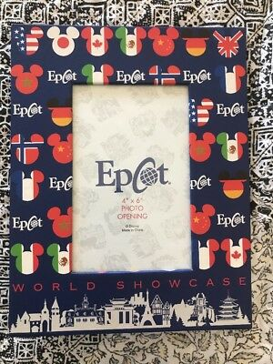 Disney World Epcot Picture Frame