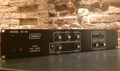 Ashly SC-55  Stereo-Compressor, Made in USA, Vintage-Kult