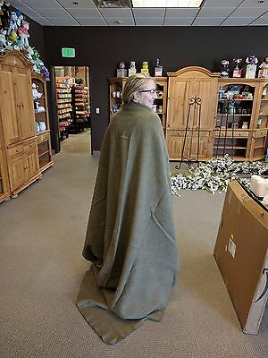 Warm wool blanket - Military Drab Olive Issue - HARD TO FIND